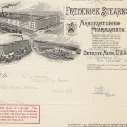 Frederick Stearns & Co.. Bill