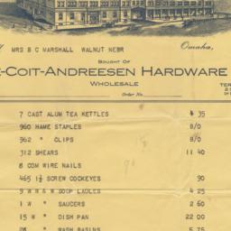 Lee-Coit-Andreesen Hardware...