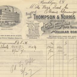 Thompson & Norris Company. ...