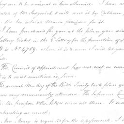 Document, 1820 May 12