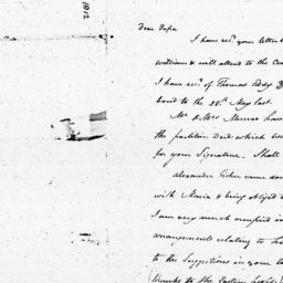 Document, 1812 July 03