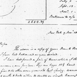 Document, 1810 November 09