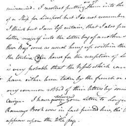 Document, 1809 November 03