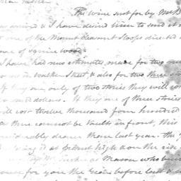 Document, 1825 April 23