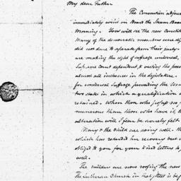 Document, 1821 November 15