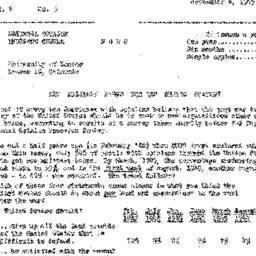 Correspondence, 1945-09-04....