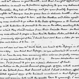 Document, 1818 January 31