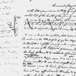Document, 1784 April 07