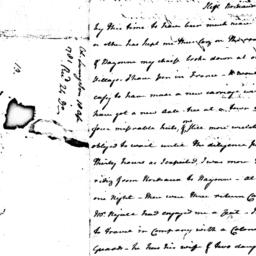 Document, 1781 April 18