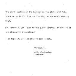 Correspondence, 1964-04-15....