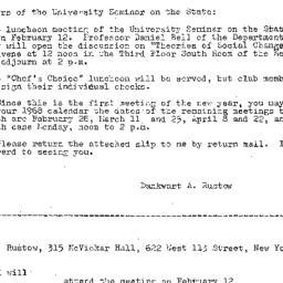 Announcements, 1968-01-26. ...