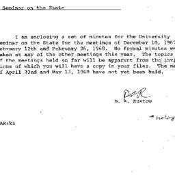 Correspondence, 1968-04-15....