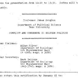 Announcements, 1981-01-26. ...