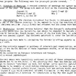 Minutes, 1949-01-04. The Pr...