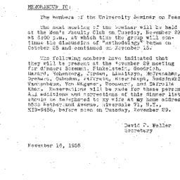 Minutes, 1955-11-15. The Pr...