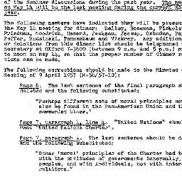 Minutes, 1957-04-30. The Pr...
