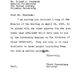Correspondence, 1962-06-13....