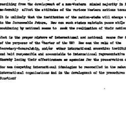 Speaker's notes, 1961-10-17...