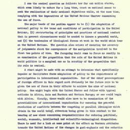 Speaker's paper, 1963-10-29...