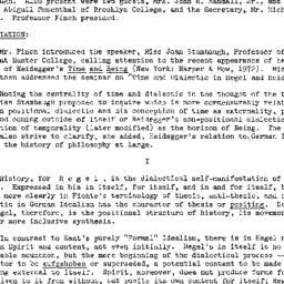 Minutes, 1973-01-08. Studie...