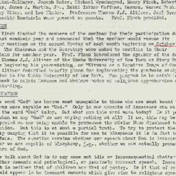 Minutes, 1975-05-12. Studie...