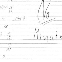 Minutes, The Renaissance, s...