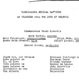 Handouts, 1971-01-30. The R...