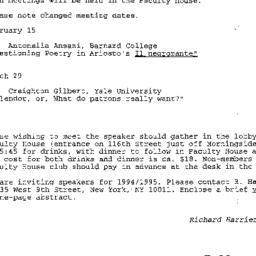 Correspondence, 1994-01-26....