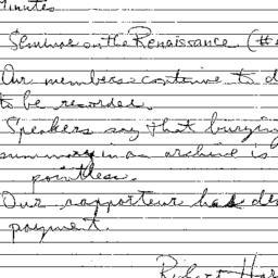 Correspondence, 2000-04-28....