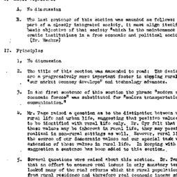 Minutes, 1948-05-06. Rural ...