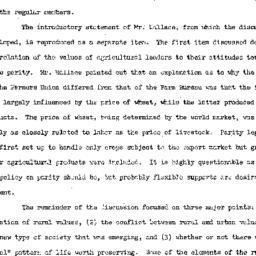 Minutes, 1953-01-21. Rural ...