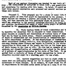 Minutes, 1953-10-07. Rural ...