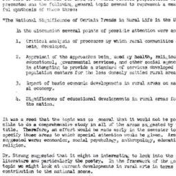 Minutes, 1954-09-29. Rural ...