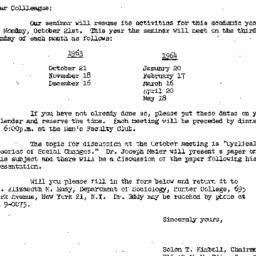 Correspondence, 1963-09-26....