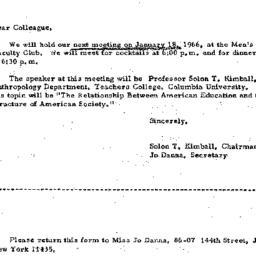 Correspondence, 1966-01-03....