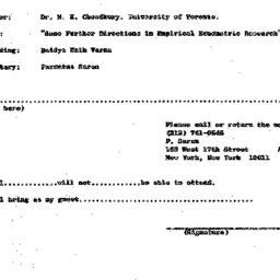 Announcements, 1972-05-17. ...