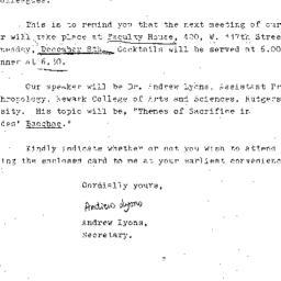 Announcements, 1976-12-08. ...