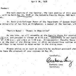 Correspondence, 1978-04-26....