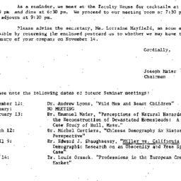 Correspondence, 1979-10-29....