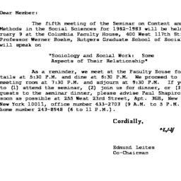 Correspondence, 1983-01-12....