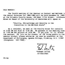 Correspondence, 1982-11-12....