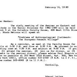 Correspondence, 1982-12-16....