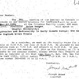 Correspondence, 1984-11-12....
