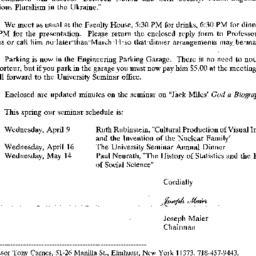 Correspondence, 1997-02-28....