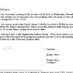 Correspondence, 1997-10-24....