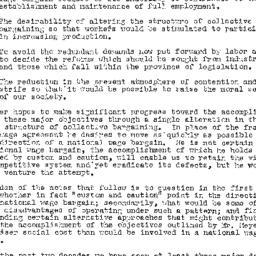 Handouts, 1950-02-28. Labor...