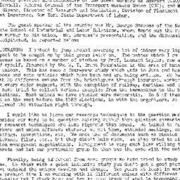 Minutes, 1954-02-03. Labor,...