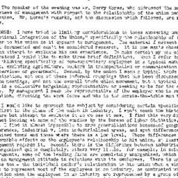 Minutes, 1954-03-31. Labor,...