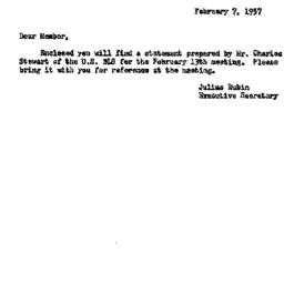 Background paper, 1957-02-1...