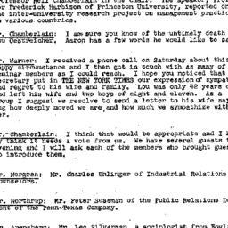 Minutes, 1957-03-13. Labor,...